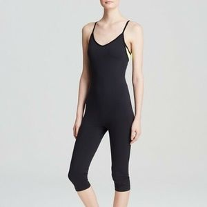 Nike Black Pro Inside Gym Body Suit, Size Small